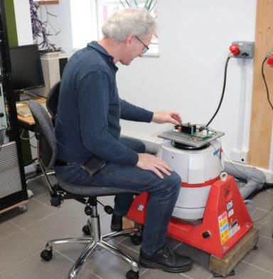 Vibrationstest Lars Bumptest
