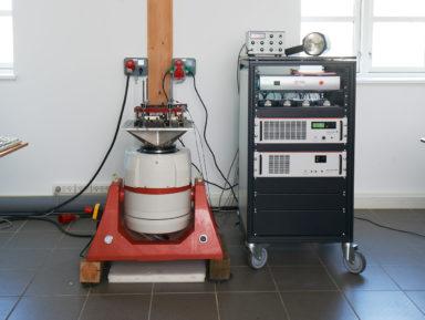 Vibrationstest LDS V650