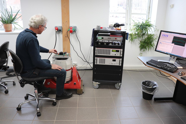 Vibrationstest Lars LDS V650